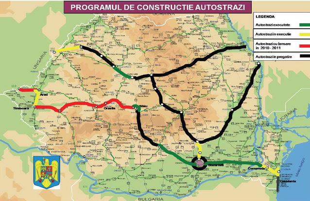 Harta Autostrazilor Din Romania Iasi Tg Mures Apare Pe La In